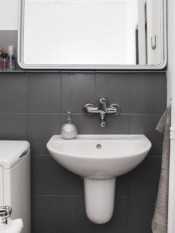 M s de 25 ideas incre bles sobre pintar azulejos del ba o - Como colocar azulejos en el bano ...
