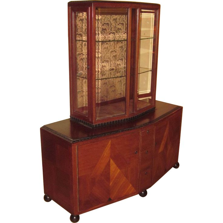Clement Rousseau Attributed Modern Display Cabinet