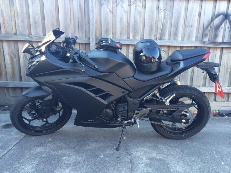 New bike all painted. Kawasaki Ninja 300 2014