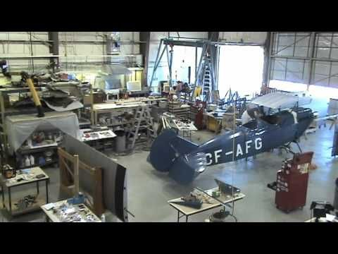 TravelAir2000.mov at the Canada Aviation and Space Museum