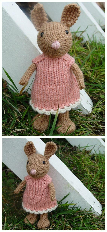Amigurumi Knit Bunny Toy Softies Free Patterns&Paid ...