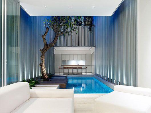 art deco style house