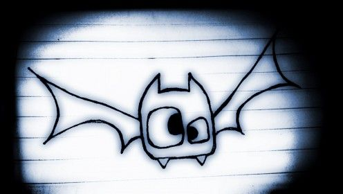 How To Draw A Cute Cartoon Bat: Easy Step By Step For Kids ...