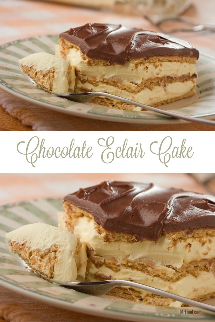Best 20+ Chocolate eclair cake ideas on Pinterest | Chocolate ...