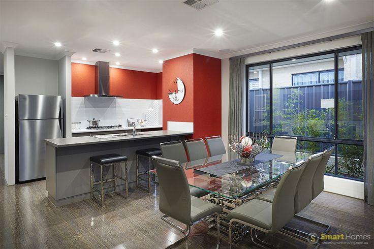 kitchen and dining  #interiordesign by #SmartHomesForLiving