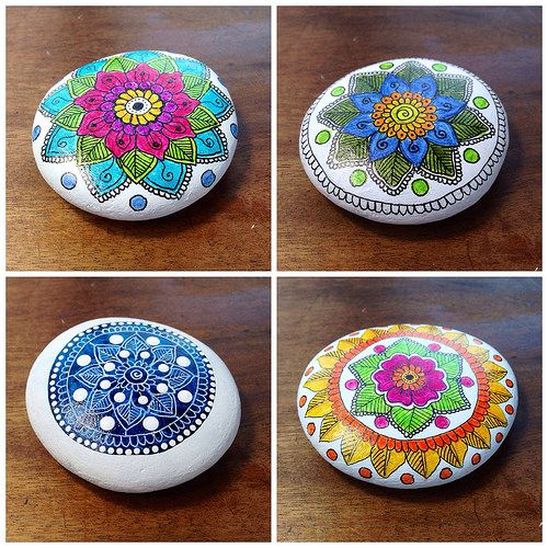 Mandala Pebbles | Flickr - Photo Sharing!
