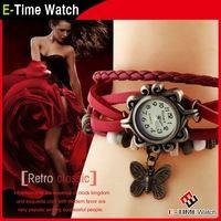 Мода дамы браслет часы античная винтаж кожаный ремешок наручные часы женская платье часы relogio feminino JW6297