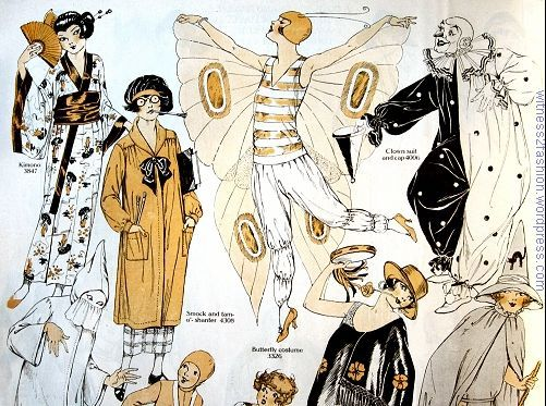 תוצאת תמונה עבור 1920 HALLOWEEN women