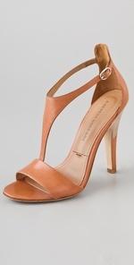 Sigerson Morrison Phebe T Strap Sandals | SHOPBOP