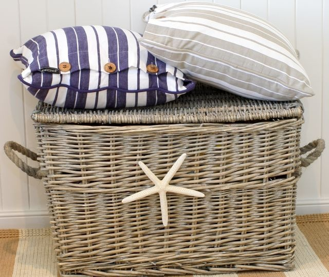 Beachy home basket