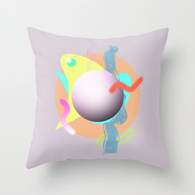 Waveforms cushion by Peta Herbert $20.00 @ #Society6