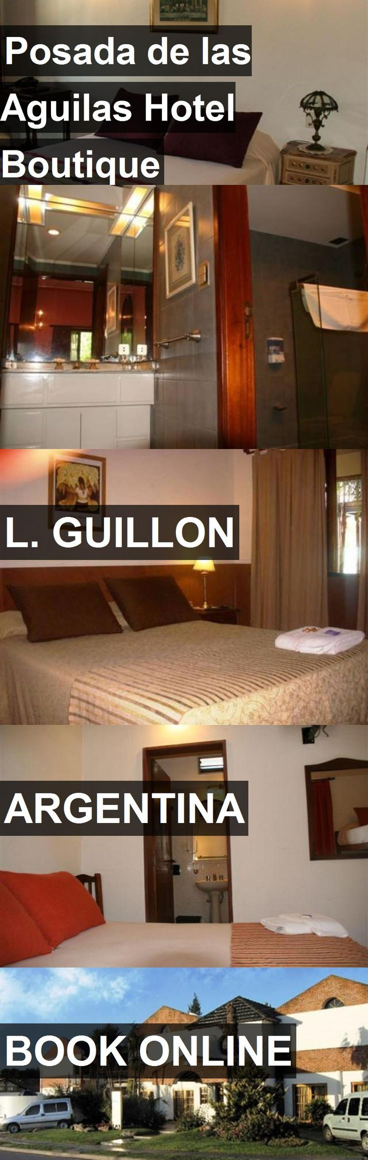 Posada de las Aguilas Hotel Boutique in L. Guillon, Argentina. For more information, photos, reviews and best prices please follow the link. #Argentina #L.Guillon #travel #vacation #hotel