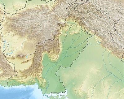 Pakistan relief location map ◆Pakistan – Wikipedia http://de.wikipedia.org/wiki/Pakistan #Pakistan