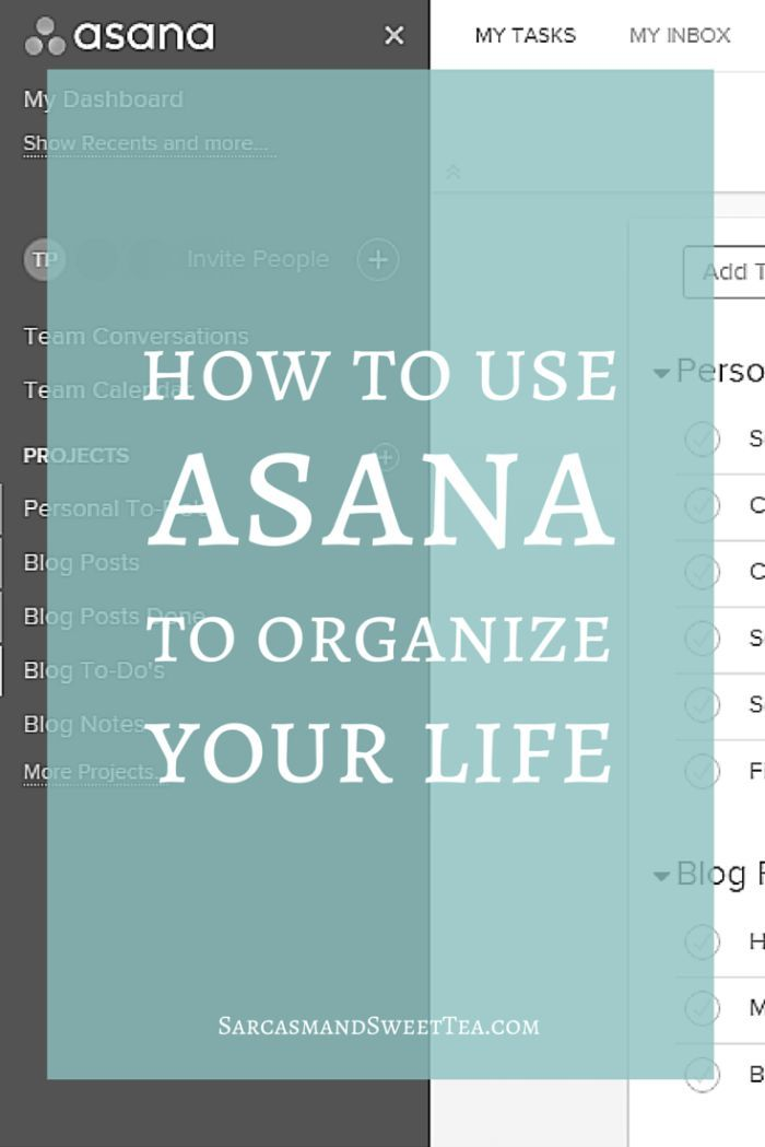 Find out tips and tricks on how to use Asana to organize multiple lists, stay productive, and keep your life on track.