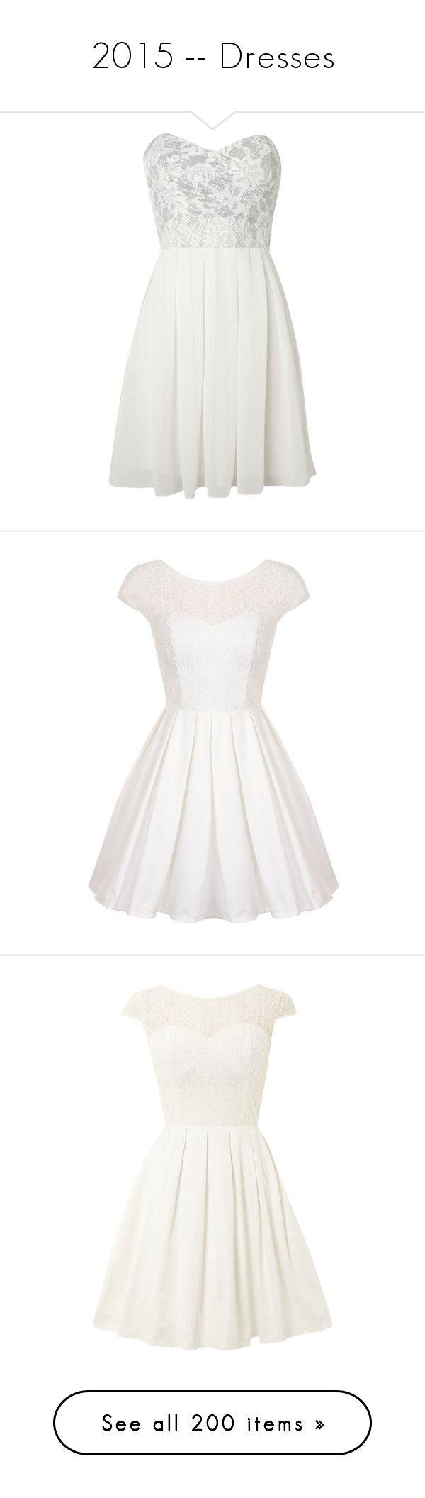 """2015 -- Dresses"" by kyla-perez-santiago ❤ liked on Polyvore featuring dresses, vestidos, short dresses, robes, off white, sale, short floral dresses, champagne cocktail dress, short sweetheart dresses and sweetheart dress"