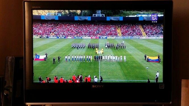 Partido de Football Chile