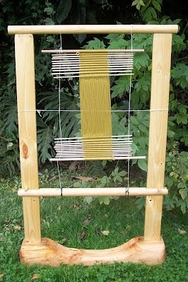 The Oseberg Viking Sprang  Weaving Loom Reconstruction