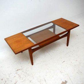 1960s teak coffee table by G-Plan Vintage