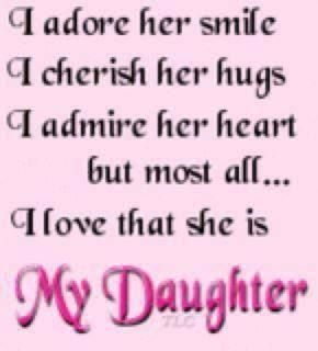 parents love for daughter