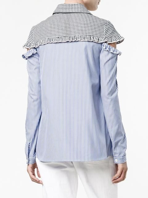 Sandy Liang рубашка Mercury