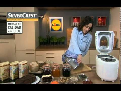 Panificadora LIDL-SILVERCREST..funciones.flv - YouTube