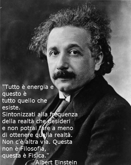 La legge dell' Attrazione in Opera: La legge dell' Attrazione e Einstein