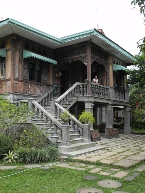 Traditional philippine house bahay na bato