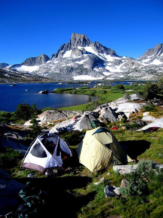 Thousand Island Lake is a large alpine lake in the Sierra Nevada, within the Ansel Adams Wilderness in eastern Madera County, California. The lake is named for the many small rocky islands that dot its surface.