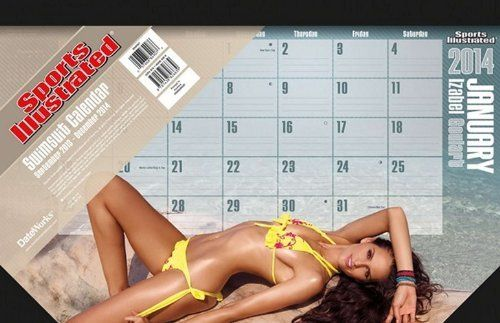 Sports Illustrated Swimsuit 2014 Desk Pad Calendar