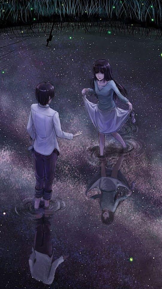 Estar a tu lado es como volar en un mar de estrellas