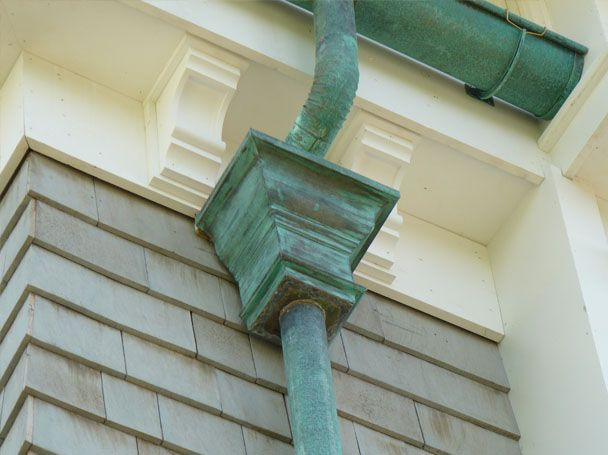 10 Best Images About Gutters Downspouts Rainchains On