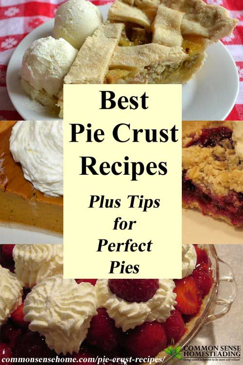 The best pie crust recipes start with the best ingredients, handled with care. Check out my favorite pie crust recipes, plus tips for a perfect crust. Includes gluten free and low sugar options.