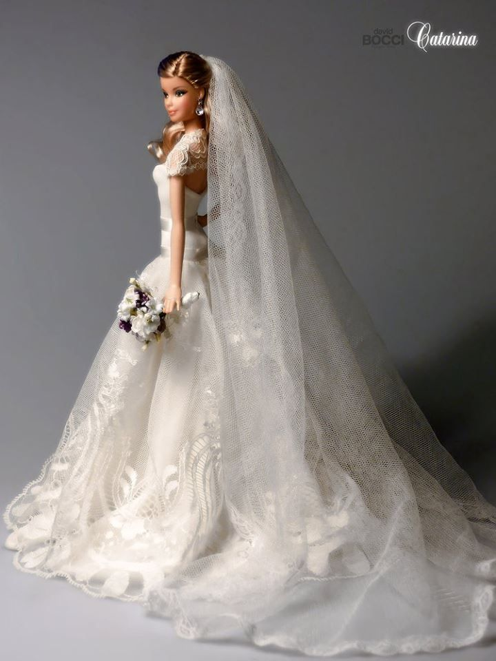 918 best images about barbie doll bridal gowns dresses for Wedding dresses for barbie dolls