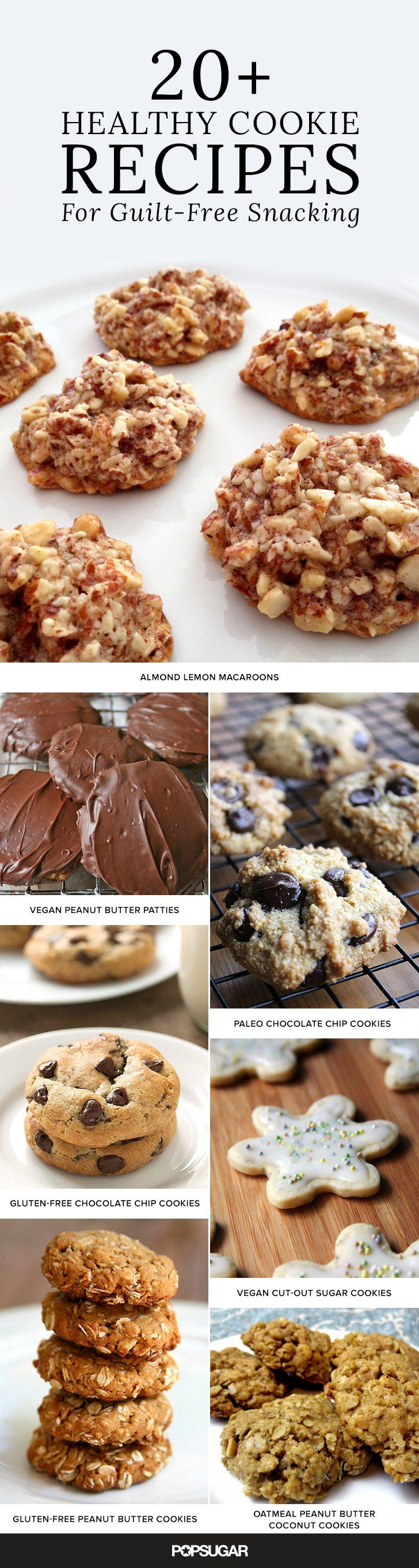 Don't Stop at Just One! 22 Healthy Cookie Recipes