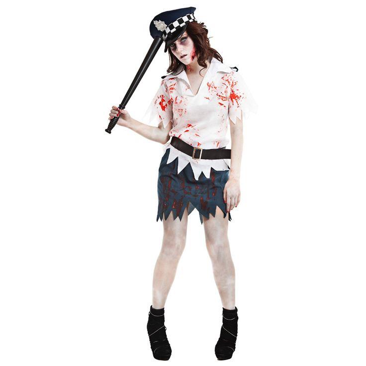 Disfraz de Policía Mujer Zombie #carnaval #novedades2016