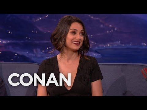 Mila Kunis Can't Deal With Her New Boobs  - CONAN on TBS - http://maxblog.com/2100/mila-kunis-cant-deal-with-her-new-boobs-conan-on-tbs/