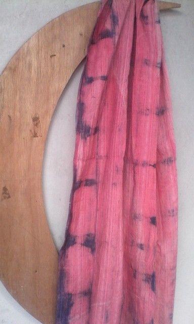 Shibori shawl