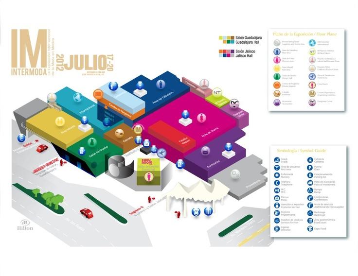 ¿Ya conoces el piso de exhibición de IM Intermoda? Te compartimos el plano para que puedas apreciar nuestras nuevas áreas de exposición