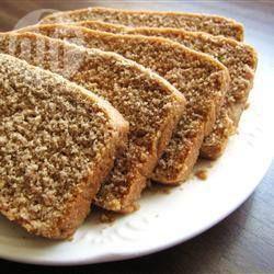 Pão 100% integral @ allrecipes.com.br - Este pão integral é macio e delicioso. Basta colocar todos os ingredientes em uma máquina de fazer pão e ligar. Esse pão fica ótimo em sanduíches.