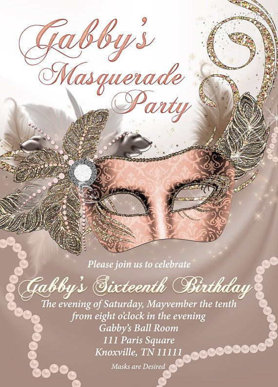 Pin By Molly Bindel On Oh Penelope Are You Filled With Air Mardi Gras Invitations Mardi Gras Birthday Invitations