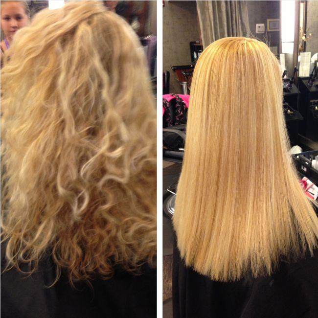 Before and after keratin concept come to next salon 310 392 6645 for this treatment http - Salon straightening treatments ...