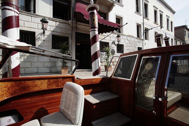 The private boat at Boscolo Venezia #boat #lagoon #BoscoloVenezia #Venice