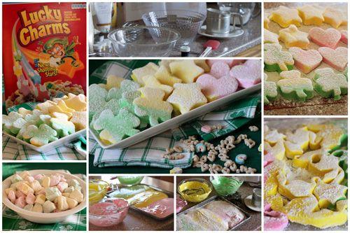 Homemade Lucky Charm Marshmallows | Barbara Bakes