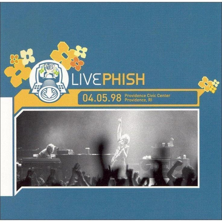 Phish - Providence Civic Center, Providence, RI 4/5/98 (CD)