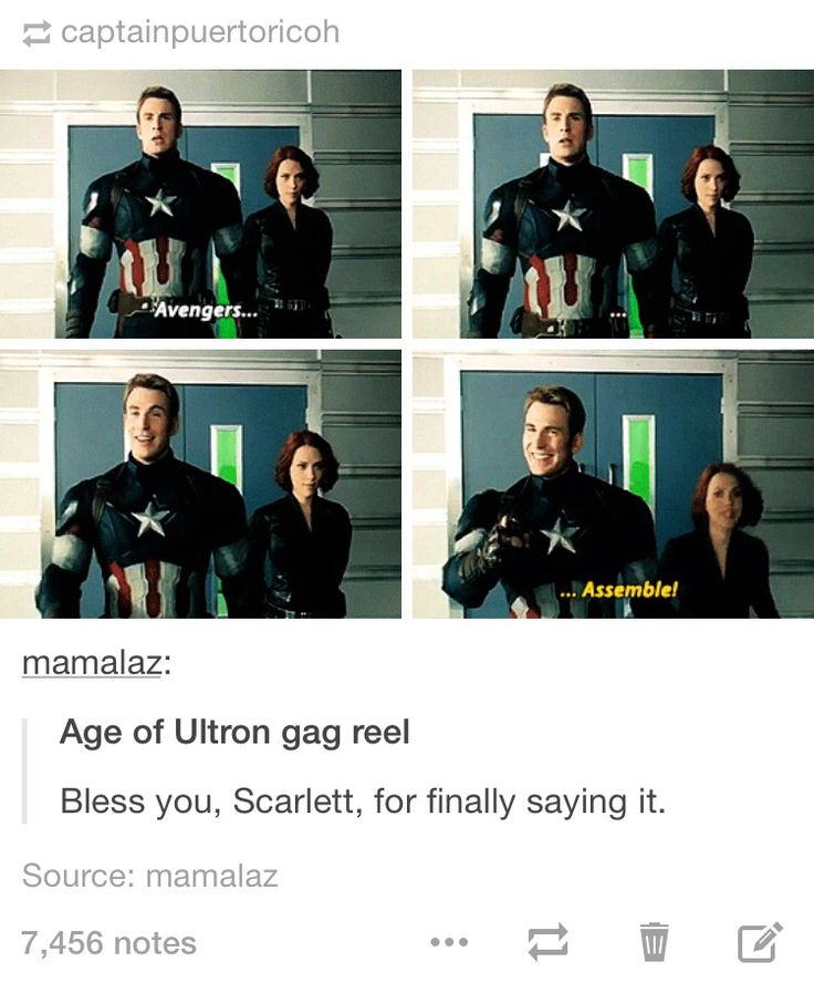 Thank you, Scarlett. We know we can count on you as our Black Widow and to say what needs to be said :)