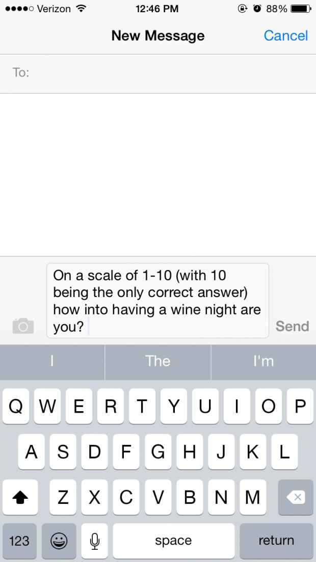 15 Texts You Send Your Roommate on a Daily Basis