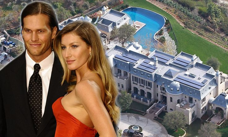 That is one MEGA mansion! Tom Brady and Gisele Bundchen's $20million dream home…