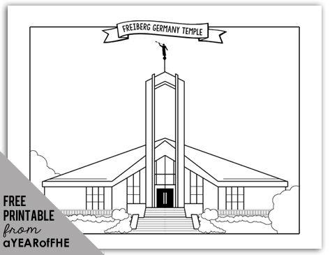 13 best aYEARofFHE LDS Coloring Pages images on Pinterest Lds
