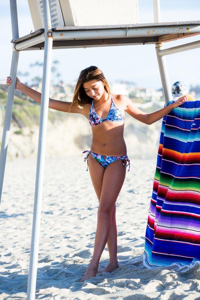 63b59b40f5d Teen Swimwear - Laguna Art Triangle Bikini Set | I <3 Wanderlusting |  Swimwear, Bikinis, Bikini set