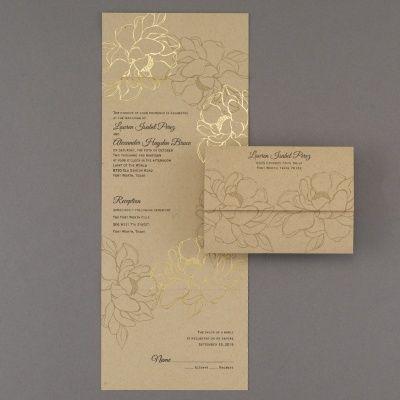 Natural Gold Seal U0027n Send Rustic Wedding Invitations  Http://partyblockinvitations.occasions